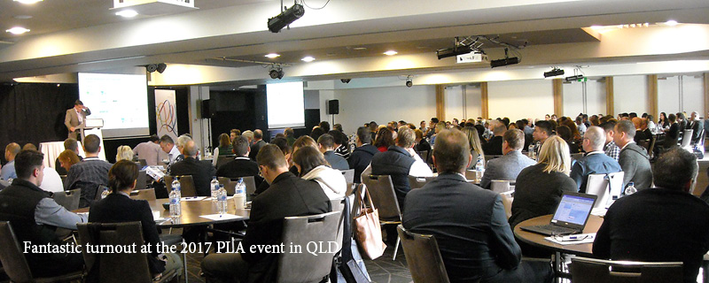 Fantastic turnout at the 2017 PLA event in QLD