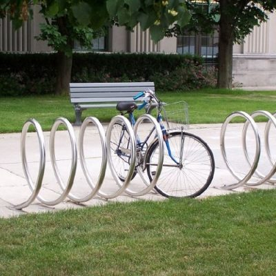 Narrow Spiral Bike Bay