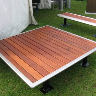 Platform Timber Bench