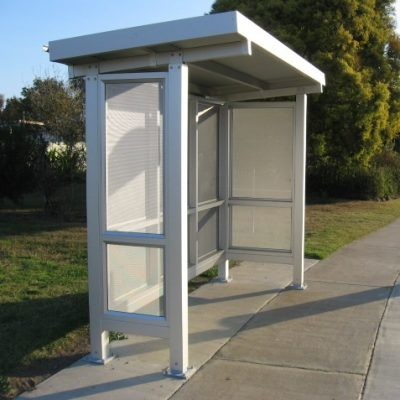 Skillion Bus Shelter