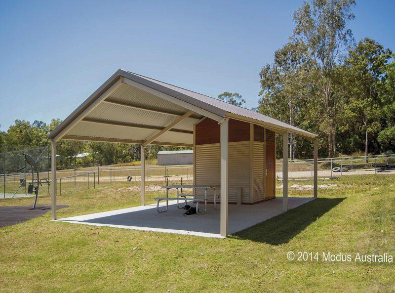 olympus toilet building Terrain Group
