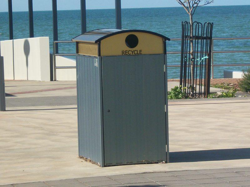 Bayside recycle bin Terrain Group