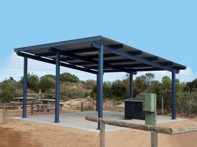 Capricorn Shelter 6m x 6m
