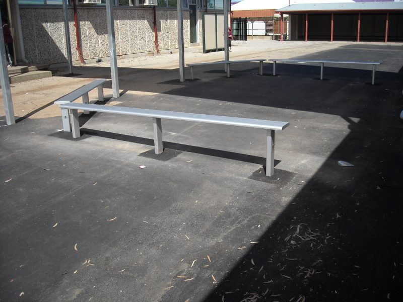 orbes Primary School 2 sports bench