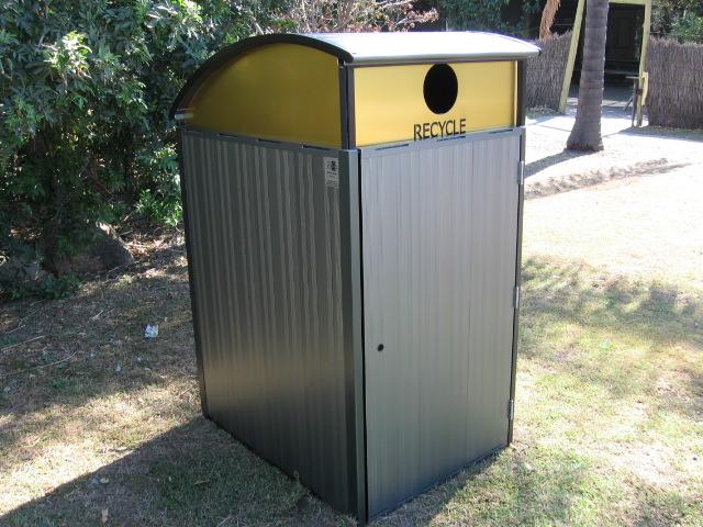 Foreshore recycle bin Terrain Group