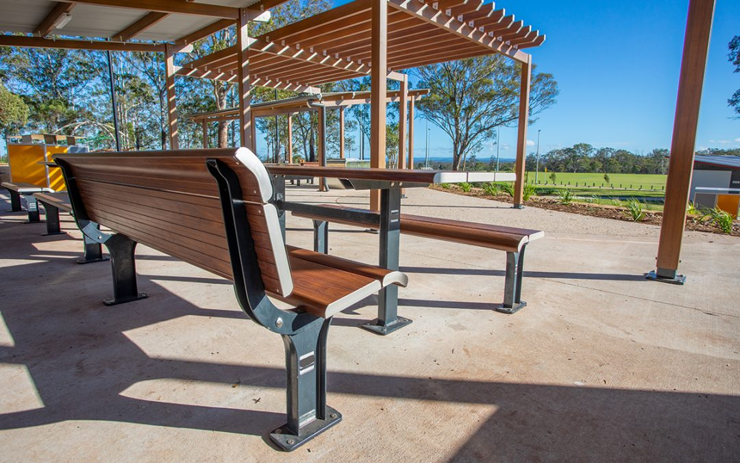Bringing shelter & seating to Toowoomba Sports Complex