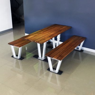Monaco Timber Table Setting