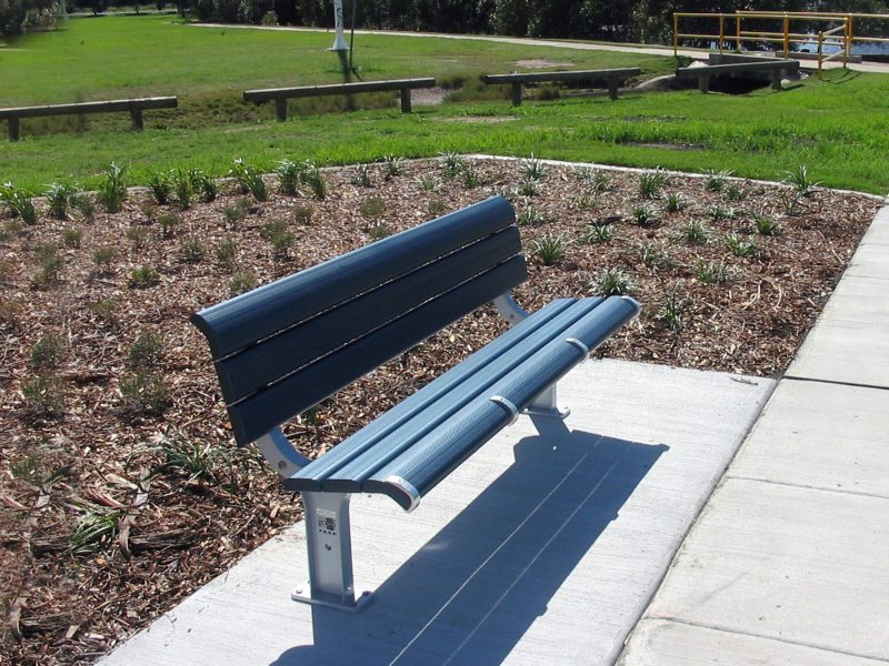 Parkway Seat with seat dividers