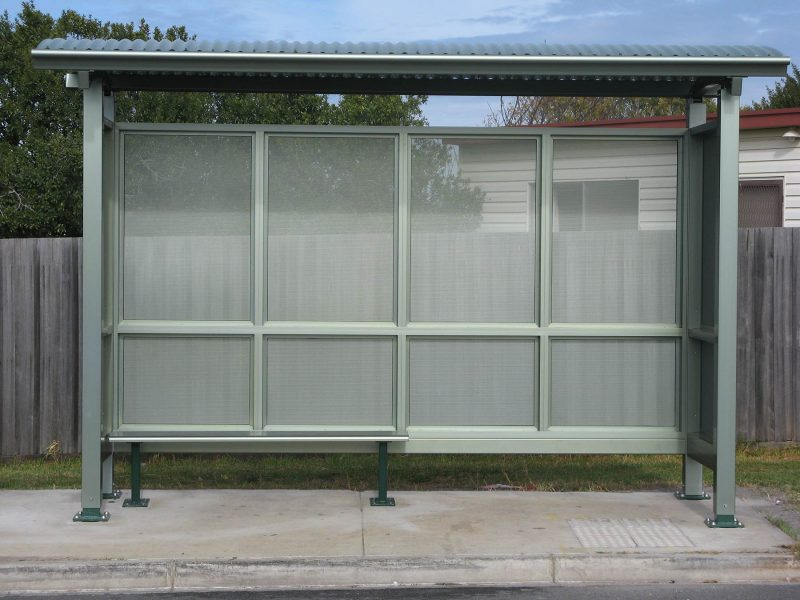 Seaside Bus Shelter Build to requirement