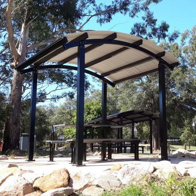 Seaside Shelter with Access Picnic Setting