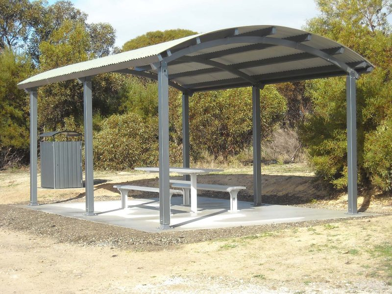 Seaside Shelter 6m x 4m