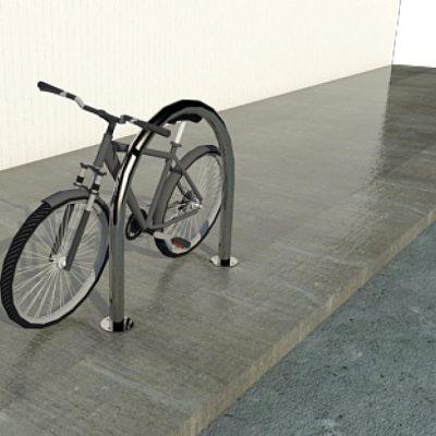 urban bike rack