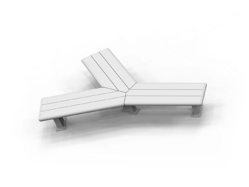 Modular Bench 3 Way Alternate