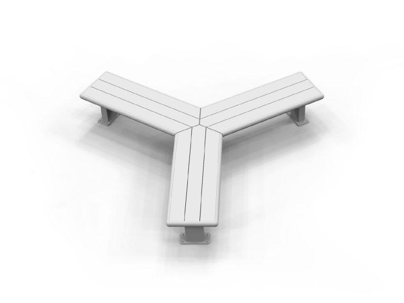Modular Bench 3 Way Regular