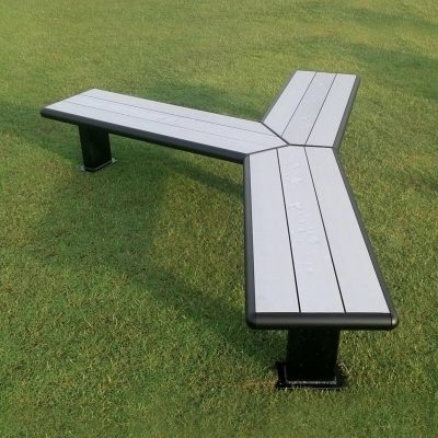 Modular Bench Aluminium Seating