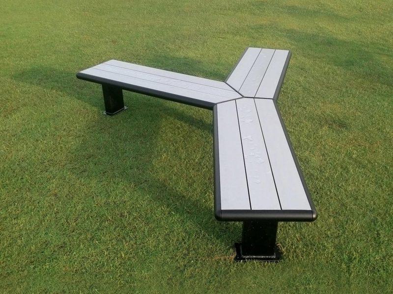 Modular Bench Aluminium Seating