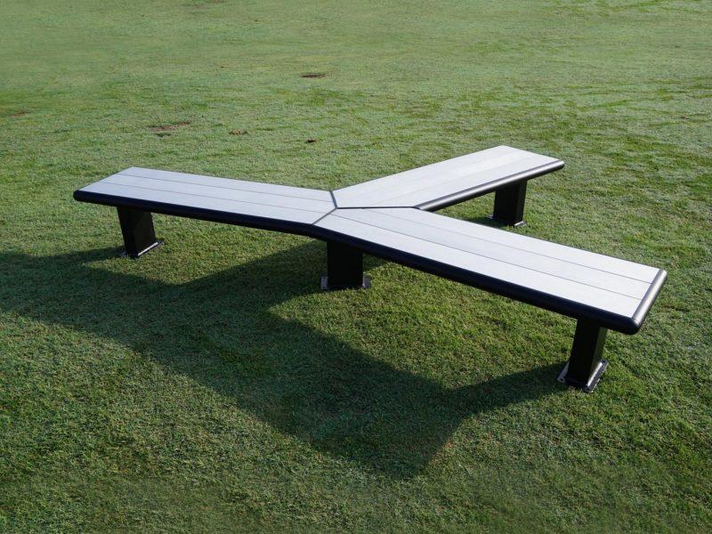 Modular Bench Aluminium Seating 4