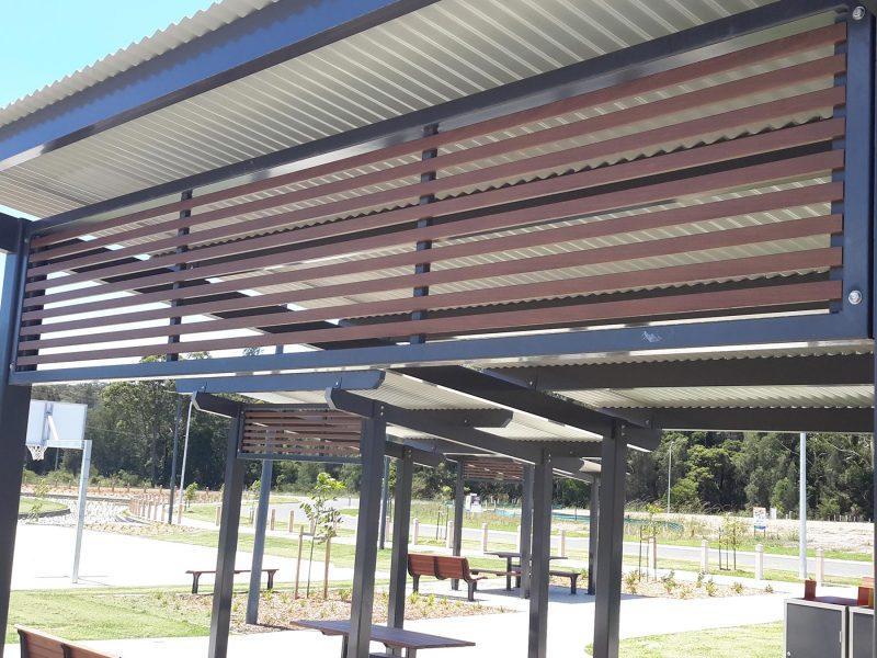 Aluminium Shelter Screening