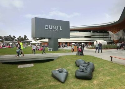 Bunjil Place new Seats and Benches