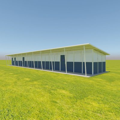 Change Room Multi Building Render