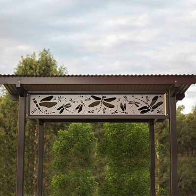 Custom Decorative Shelter Screening