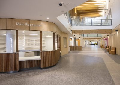 Palmerston Hospital with Terrain Custom Furniture Seating