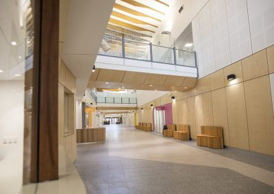 Custom Furniture Seating for the new Palmerston Hospital in Darwin