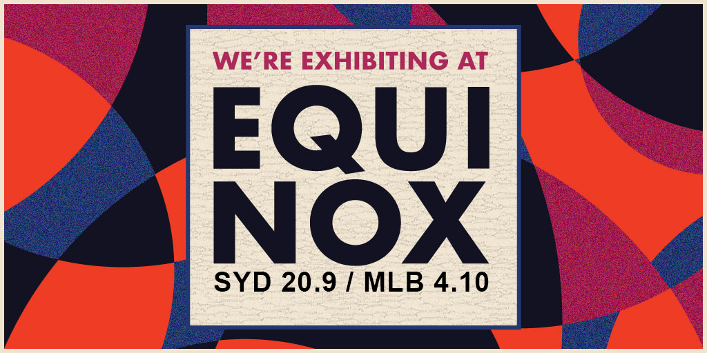We're Exhibiting at Equinox 2018