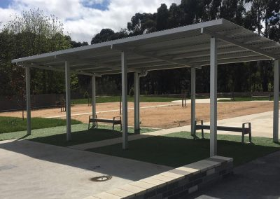 Hepburn Council's splash park gets Skillion Shelter