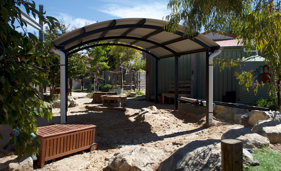 Terrain Group Was Approached By DPTI Building Division Late 2017 Te To Supply A Shelter Structure For The Aldinga Childrens Centre