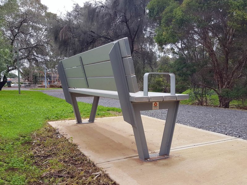 Monaco Aluminium Seat with Armrests