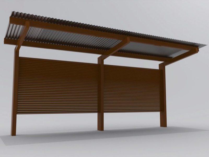Sports Cantilever Shelter
