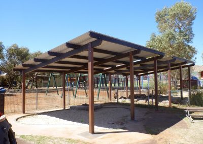 Ernabella Anangu School's new Capricorn Shelters