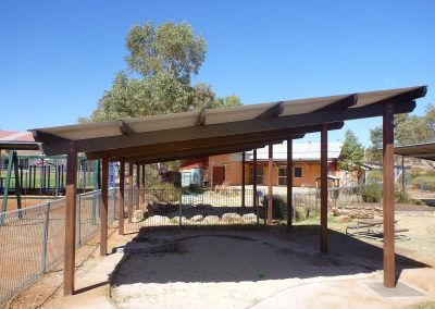 Capricorn Shelter 2x 6m x 6m Supplied and installed Ernabella SA