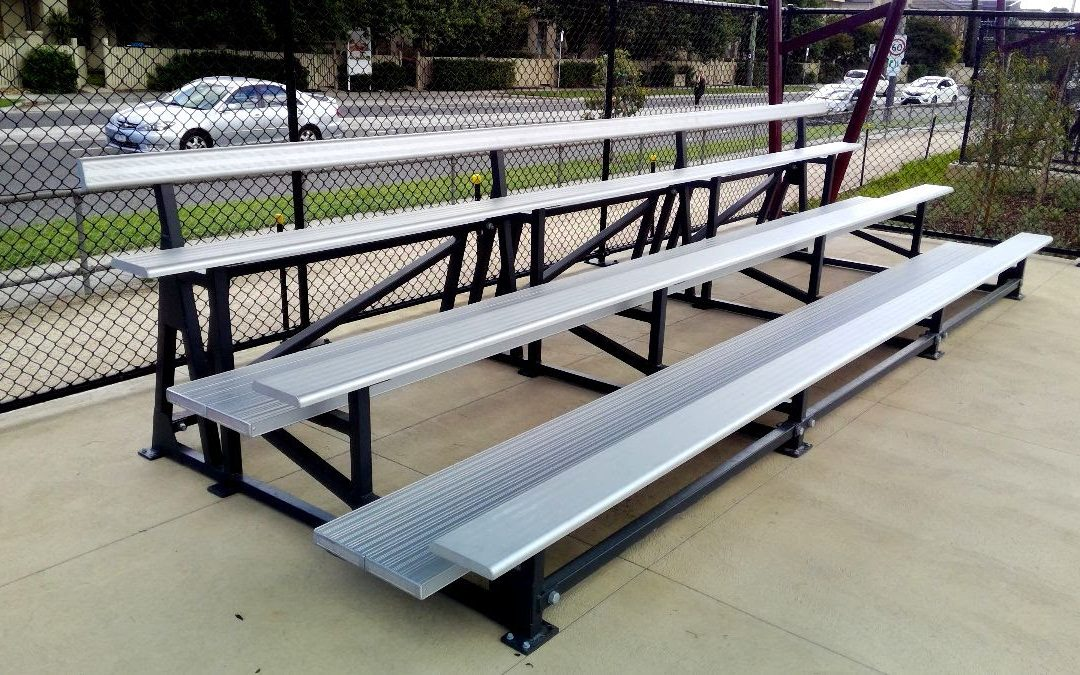 Glen Eira receives new grandstand seating
