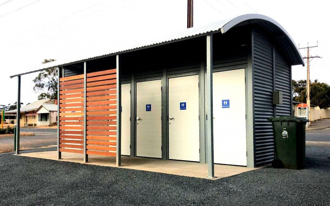 Moorook's new MODUS toilet building completed