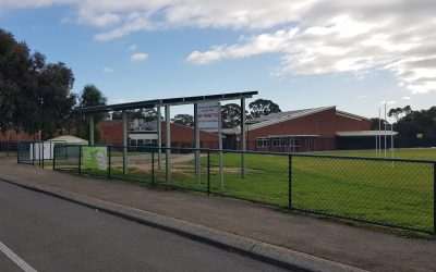 Skillion Shelter at Flagstaff Hill School