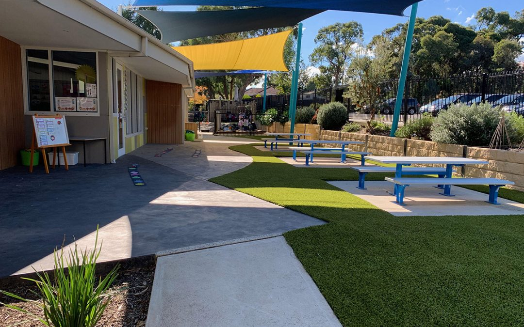 Customised Access Table for Melbourne school's outdoor learning space