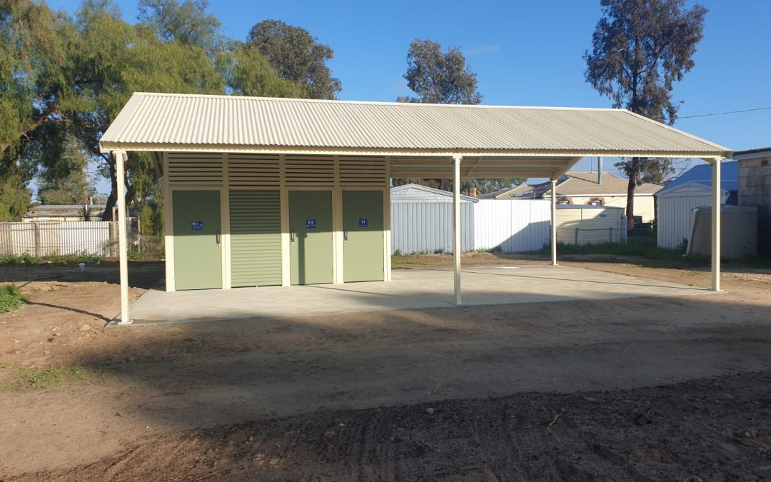 Local SA towns Sherlock and Peake receive new toilet buildings.
