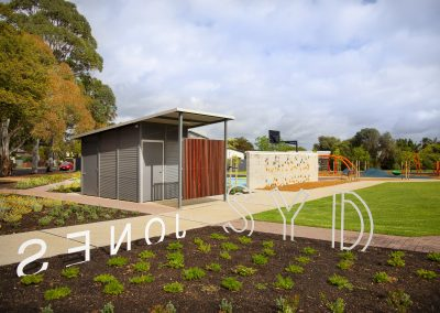 Syd Jones Reserve New Shelter and Toilet Facilities