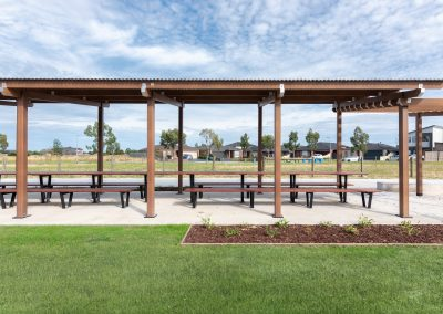 Shelter and picnic facilities for fast-growing municipality
